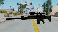 SCAR-20 v1 No Supressor para GTA San Andreas