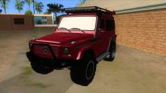 Mercedes-Benz G500 Off Road V3.0 para GTA San Andreas