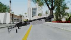 GTA 5 Pump Shotgun - Misterix 4 Weapons para GTA San Andreas
