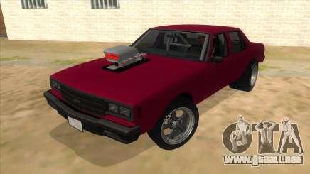 1984 Chevrolet Impala Drag para GTA San Andreas
