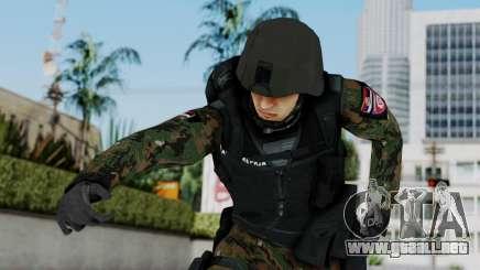 Serbian Zandarmerija para GTA San Andreas