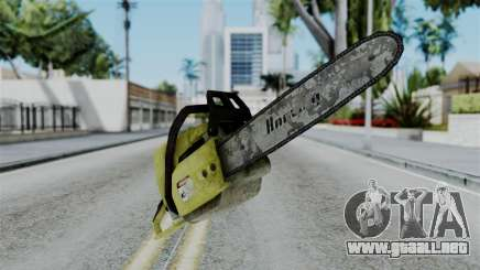 No More Room in Hell - Chainsaw para GTA San Andreas