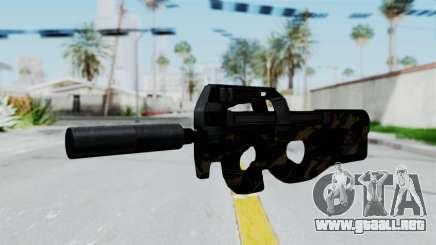 P90 Camo2 para GTA San Andreas