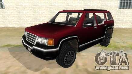 GTA III Landstalker para GTA San Andreas