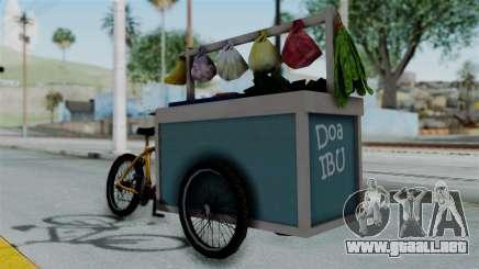 Gerobak Sayur (Vegetable Carts) para GTA San Andreas