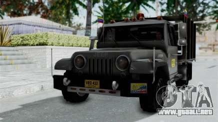 Jeep con Estacas Stylo Colombia para GTA San Andreas