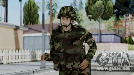 Srpski Vojnik 1999 para GTA San Andreas