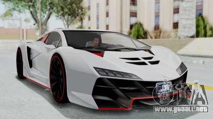 GTA 5 Zentorno Tron para GTA San Andreas