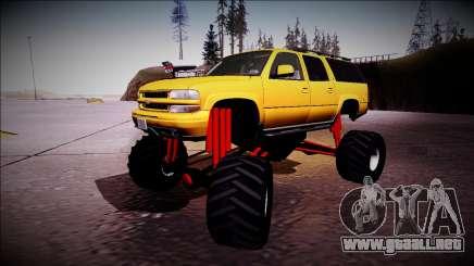 2003 Chevrolet Suburban Monster Truck para GTA San Andreas