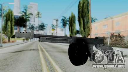 GTA 5 Gusenberg Sweeper - Misterix 4 Weapons para GTA San Andreas