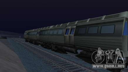 Batman Begins Monorail Train Vagon v1 para GTA San Andreas