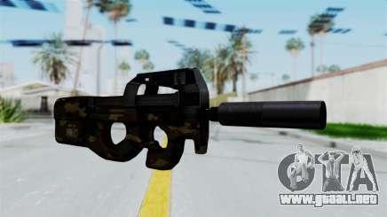 P90 Camo1 para GTA San Andreas