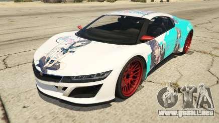 OreGairu painted Jester2 para GTA 5