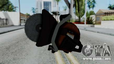 No More Room in Hell - Abrasive Saw para GTA San Andreas