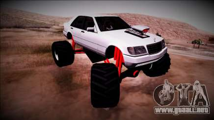 Mercedes-Benz W140 Monster Truck para GTA San Andreas