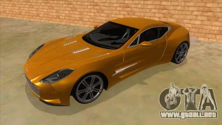 Aston Martine One-77 2010 Autovista para GTA San Andreas