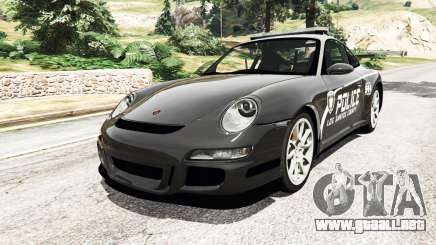 Porsche 911 GT3 RS Pursuit Edition para GTA 5