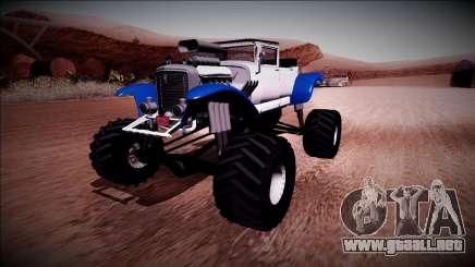 GTA 5 Albany Franken Stange Monster Truck para GTA San Andreas