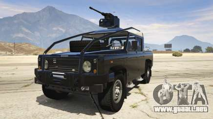 Land Rover 110 Pickup Armoured para GTA 5