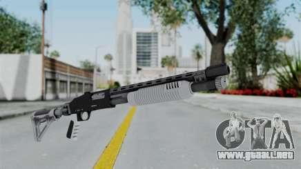 GTA 5 Pump Shotgun - Misterix 4 Weapons para GTA San Andreas