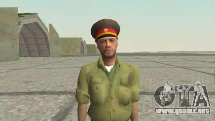 Oficial de las fuerzas armadas de la Federación de rusia para GTA San Andreas
