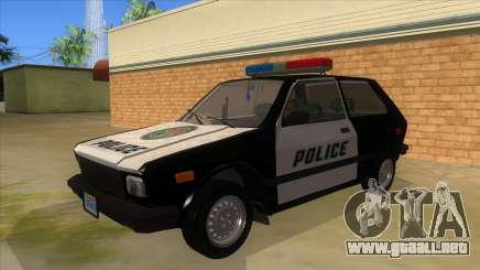 Yugo GV Police para GTA San Andreas