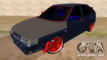 VAZ 2112 Hobo para GTA San Andreas