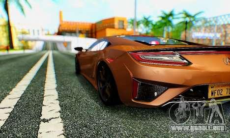 ENB B.M.S. para GTA San Andreas segunda pantalla