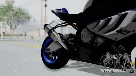 BMW S1000RR HP4 para la visión correcta GTA San Andreas