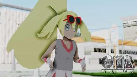 Pokémon XY Series - Korrina v2 para GTA San Andreas