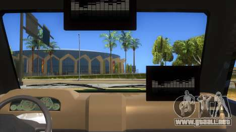 Toyota Kijang Grand Extra Full para visión interna GTA San Andreas