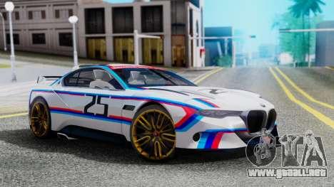 2015 BMW CSL 3.0 Hommage R para GTA San Andreas
