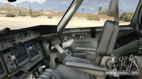 GTA 5 Bombardier Dash 8Q-400 quinta captura de pantalla