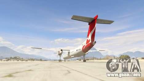 GTA 5 Bombardier Dash 8Q-400 tercera captura de pantalla