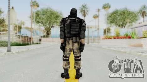 F.E.A.R. 2 - Soldier para GTA San Andreas tercera pantalla