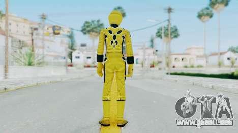 Power Rangers Jungle Fury - Yellow para GTA San Andreas tercera pantalla