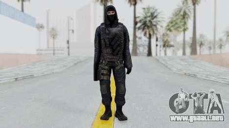 SAS No Gas Mask from CSO2 para GTA San Andreas segunda pantalla