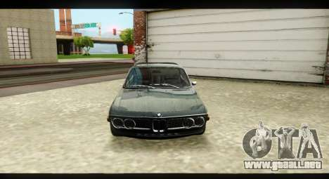 BMW 3.0 CSL para visión interna GTA San Andreas