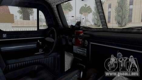 GTA 5 Bravado Duneloader Cleaner para visión interna GTA San Andreas