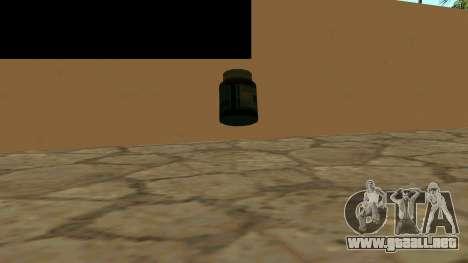 Reemplazar los iconos y salvar vidas para GTA San Andreas segunda pantalla