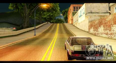 BMW 3.0 CSL para GTA San Andreas vista posterior izquierda