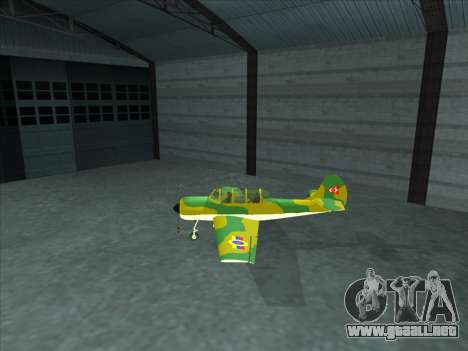 Yak-52 para GTA San Andreas left
