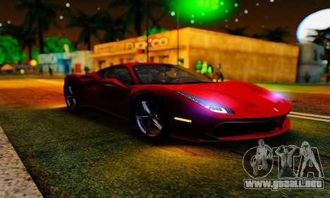 ENB B.M.S. para GTA San Andreas quinta pantalla