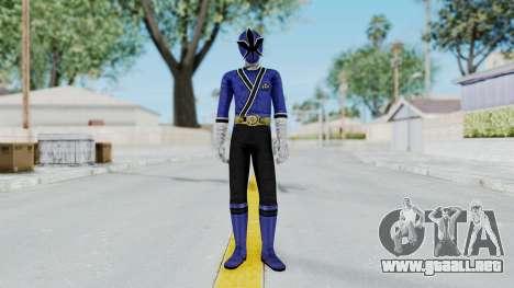 Power Rangers Samurai - Blue para GTA San Andreas segunda pantalla