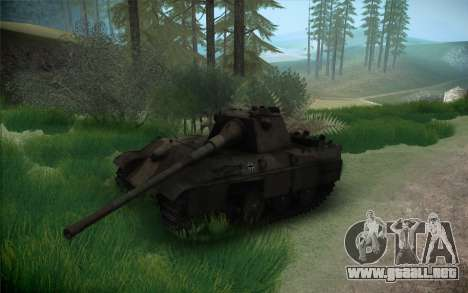 Panther II para GTA San Andreas vista hacia atrás