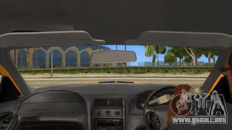 2003 Ford Mustang para visión interna GTA San Andreas