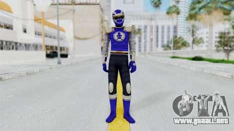 Power Rangers Ninja Storm - Navy para GTA San Andreas segunda pantalla