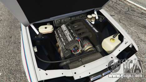 GTA 5 BMW M3 (E30) 1991 v1.3 vista lateral derecha