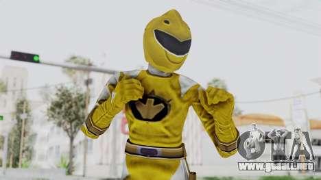 Power Rangers Dino Thunder - Yellow para GTA San Andreas