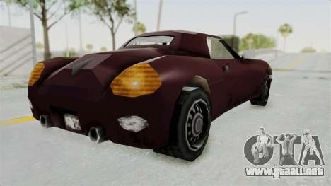 GTA 3 Stinger para GTA San Andreas left